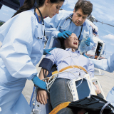 51-281 Life/form® Deluxe Plus CRiSis™ Auscultation Manikin with Advanced Airway Management, CPR Metrix, and iPad®