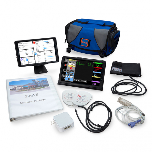 51-360 Simulaids® SimVS Simulation Platform Hospital Monitor and Defibrillator