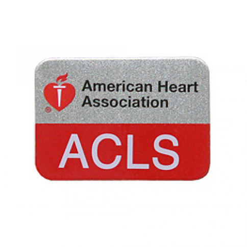 90-1532 AHA ACLS Lapel Pin - 10 Pack