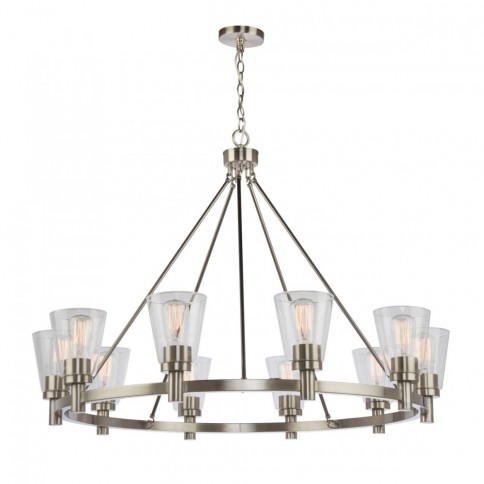 AC10760BN Clarence AC10760BN Chandelier