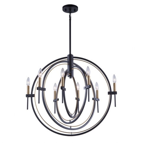 AC11458 ANGLESEY 8 LT CHANDELIER