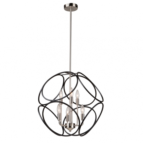 SORRENTO 2 TIER 6LT CHANDELIER