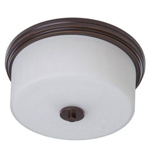 AC2193OB Russell Hill 2 Light  Oil Rubbed Bronze Flush Mount