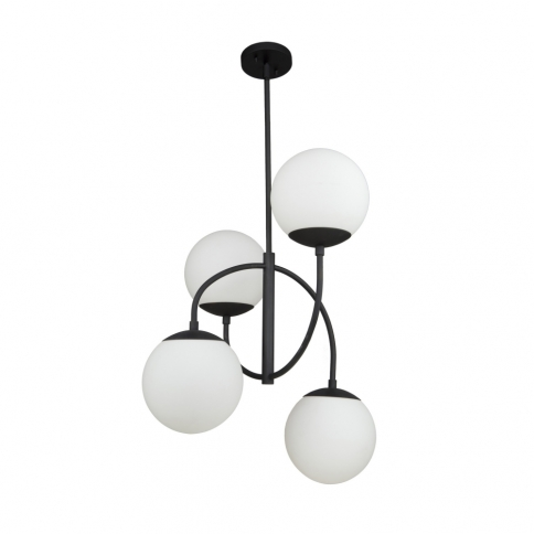SC13224BK MOONGLOW 4 LT CHANDELIER