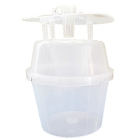 GL/IP-2353-03 BUCKET TRAP, CLEAR, 3/CS