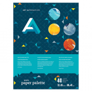 "aa White Paper Palette Pads 12"" x 16"""