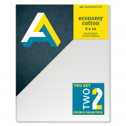 Economy Cotton Canvas 8x10 2 Pack 5/8in profile