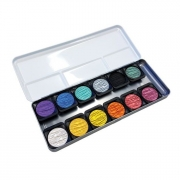 Finetec Pearlescent Mica Watercolor Set of 12