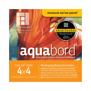 Ampersand Aquabord Textured Panel, 4 x 4 Pack of 4