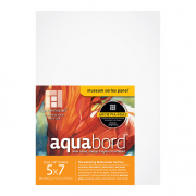 Ampersand Aquabord Textured Panel, 5 x 7 Pack of 3