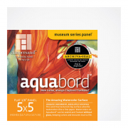Ampersand Aquabord Textured Panel, 5 x 5 Pack of 4