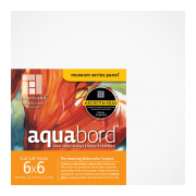 Ampersand Aquabord Textured Panel, 6 x 6 Pack of 4