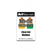 art materials clear gel medium 8 ounces