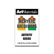 art materials artists' gesso 128 oz