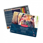 Derwent Watercolor Collection 24 Piece Metal Tin
