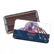 Derwent Coloursoft Colored Pencil Set Tin of 36