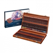 Derwent Coloursoft Colored Pencil Set Wooden Box of 72