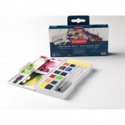 Derwent Inktense 12 Paint Pan Travel Set