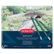 Derwent Artists Colored Pencils Set of 24