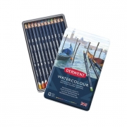 Derwent Watercolor Pencil Tin of 12
