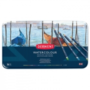 Derwent Watercolor Pencil Tin of 36