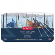Derwent Watercolor Pencil Tin of 72
