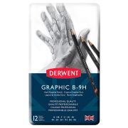 derwent graphic pencils technical set of 12 hard pencils