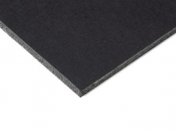 "EL901-125 Foam Board Black 3/16"" 24x36"