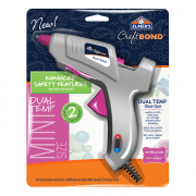 Elmers dual temperature mini hot glue gun 20W