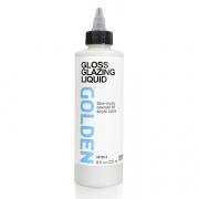 golden acrylic glazing liquid gloss 8 ounces