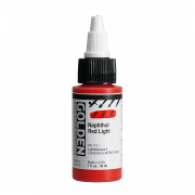 Golden High Flow Acrylic Paint, 30ml, Napthol Red Light