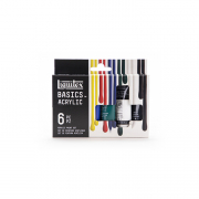 liquitex basics acrylic introductory set of 6