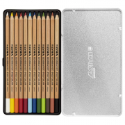 Open Rembrandt Polycolor Colored Pencil Sets, 12-Color Set