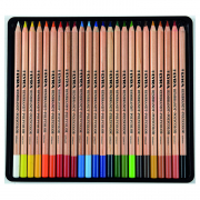 Rembrandt Polycolor Colored Pencil Sets, 24-Color Set