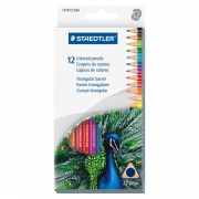 Staedtler Triangular Colored Pencil Set of 12