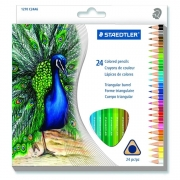 Staedtler Triangular Colored Pencil Set of 24