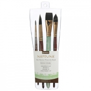 Princetone Neptune Professional 4 Brush Set