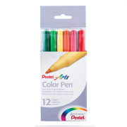 pentel color pen set of 12