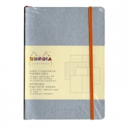 Rhodia Goalbook A5 Notebook Silver