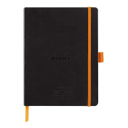 Rhodia Meeting Book 6 x 8.25 (A5) Black front