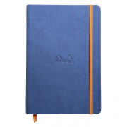 Rhodia Webnotebook 5.5 x 8.5 (A5) Lined Sapphire Cover