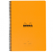 Rhodia Spiralbound Meeting Book 8.25 x 11.75 (A4) Orange