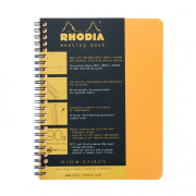 Rhodia Spiralbound Meeting Book 5-7/8 x 8-1/4 (A5) Orange