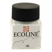 Talens Ecoline Liquid Watercolor 30ml Jar White