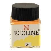 Talens Ecoline Liquid Watercolor 30ml Jar Light Yellow