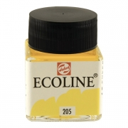 Talens Ecoline Liquid Watercolor 30ml Jar Lemon Yellow