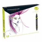Prismacolor Premier Double Ended Brush Marker Primary Set