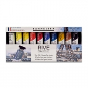 Sennelier Rive Gauche Fine Oil Colors Set of 10
