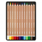 Cretacolor MegaColor Fine Art Colored Pencils Set of 12