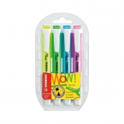 Stabilo Swing Cool Highlighter Set of 4